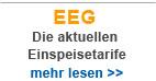 Aktuelle EEG Einspeisevergütung