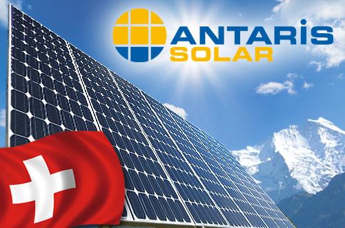 Willkommen auf der Website der ANTARIS SOLAR AG, Schweiz