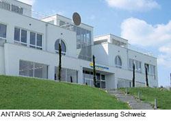 ANTARIS SOLAR Zweigniederlassung Kreuzlingen (Schweiz)
