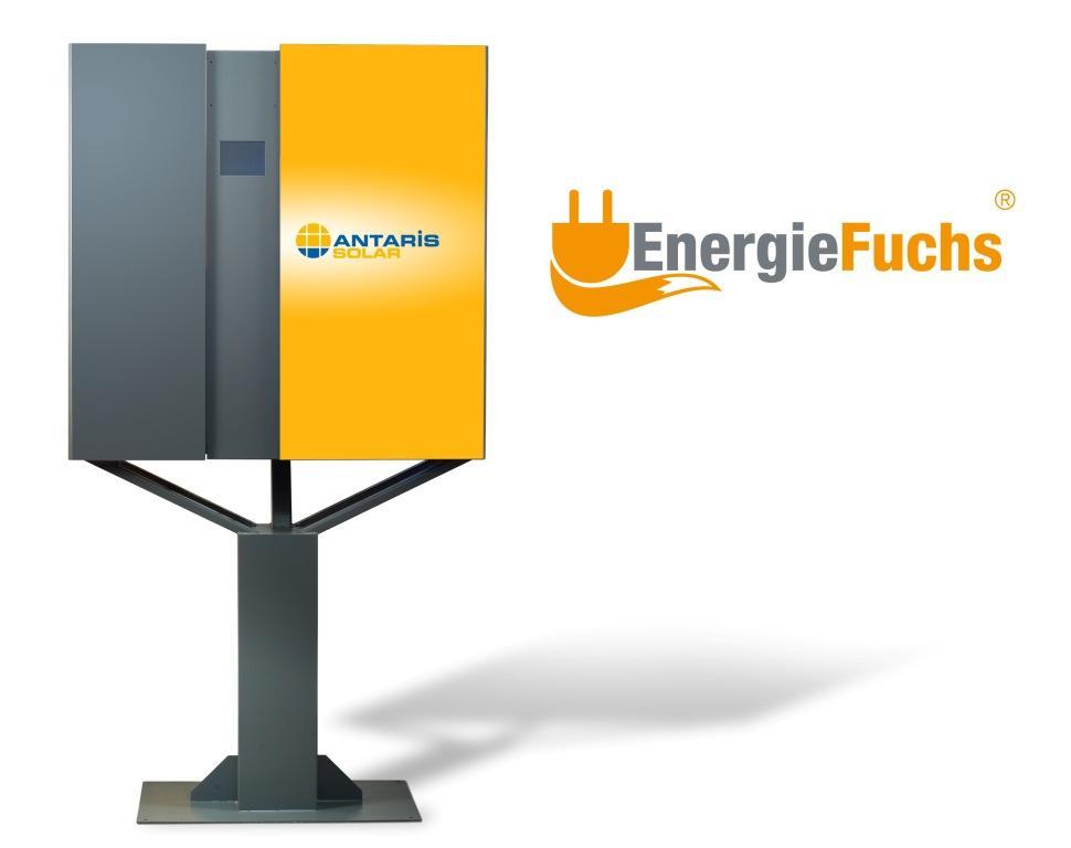 Ausgefuchste Speicherlösung mit 10 Jahren Leistungsgarantie – Der EnergieFuchs® von ANTARIS SOLAR Bild: ANTARIS SOLAR